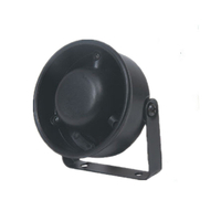 Black 10w Motorcycle Police Siren