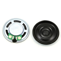 Aluminum Shell Internal Magnet Speaker 8ohm 0.5w 30mm Headphone Speaker